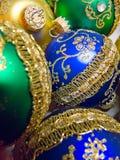 Verde, ouro e azul Foto de Stock Royalty Free