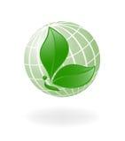 Verde-Pianeta Fotografia Stock