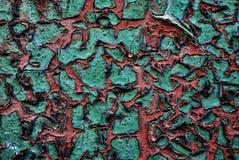 Verde rachado Imagem de Stock Royalty Free