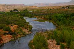 Verde River Valley Royalty Free Stock Photography