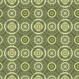 Verde sem emenda da textura ilustração stock