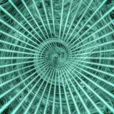 Verde torcido Imágenes de archivo libres de regalías