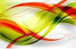 Verde vermelho de Fluo Imagens de Stock Royalty Free