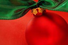 Verde vermelho e ouro Imagens de Stock Royalty Free