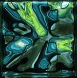 Verde y azul Imagen de archivo libre de regalías