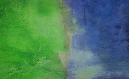 Verde y azul Imágenes de archivo libres de regalías