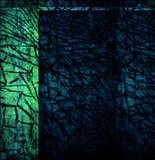 Verde y azul Foto de archivo