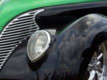 Verde y ennegrezca 38 Ford Foto de archivo libre de regalías