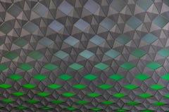 Verde y gris abstractos Fotografía de archivo libre de regalías