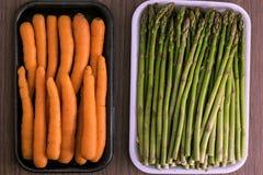 Verde y naranja foto de archivo libre de regalías