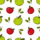 Verde y rojo stock de ilustración