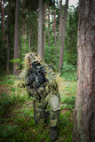 Verdeckter Soldat Lizenzfreies Stockfoto