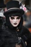 Verdecktes Modell Venedigs Karneval Stockfotografie