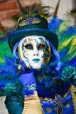 Verdecktes Modell Venedigs Karneval Lizenzfreie Stockbilder