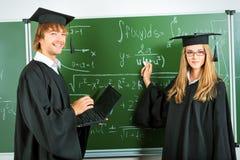 Verdedig diploma Royalty-vrije Stock Fotografie