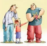 Verdedig tegen intimidatie royalty-vrije illustratie