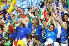 Verdedigers van het de voetbalteam van Italië de nationale Royalty-vrije Stock Fotografie