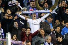 Verdedigers van Real Madrid Stock Foto's