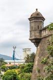 Verdedigingstoren in het kasteel Royalty-vrije Stock Foto