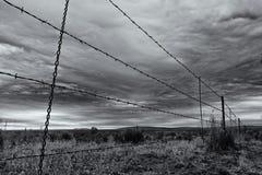 Verdeeld Land Stock Foto's