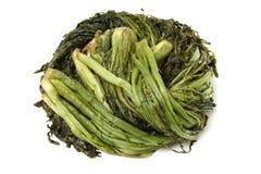 Verdes conservados en vinagre de Mizuna imagen de archivo
