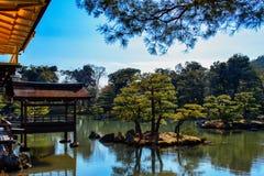 Verdes de Kyoto imagenes de archivo