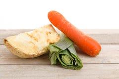 Verdes para uma sopa de vegetais Imagem de Stock Royalty Free