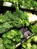 Verdes saudáveis Imagens de Stock