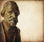 Verdi de Giuseppe Foto de Stock Royalty Free