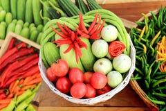 Verdi freschi e verdure Immagine Stock Libera da Diritti