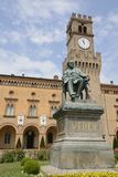 Verdi monument  in Busseto Stock Image