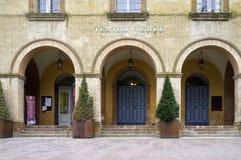 Verdi Theatre, Busseto. Color image Stock Image