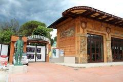 Verdi Theatre in Montecatini Terme Royalty Free Stock Photo