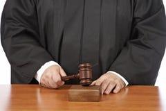 Verdict Stock Photo