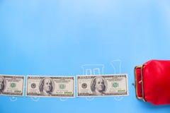 Verdien geldconcept royalty-vrije stock afbeeldingen