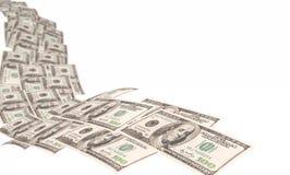 Verdienen des Geldes Stockbild