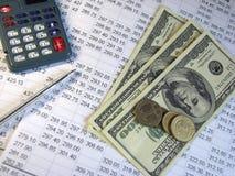 Verdienen des Geldes Stockfotografie