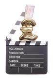 Verdienen des Geldes in der Filmindustrie Stockfotografie