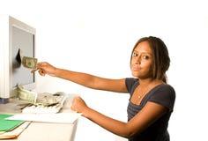 Verdienen Sie Geld vom Internet Stockfotografie