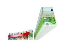 Verdienend Geld Stock Foto's
