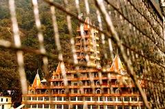 13 verdieping Adobe door hangbrug Royalty-vrije Stock Fotografie