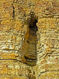 Verdieping in een rots Stock Fotografie