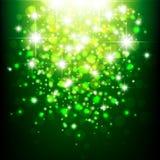 Verdissez la lumière abstraite de bokeh Photo stock