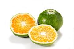 Verdissez la mandarine Image stock