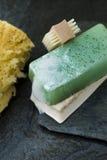 Verdissez le savon organique photo libre de droits