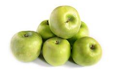 Verdissez les pommes Photos stock