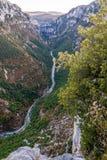 Verdon canyon, France. Stunning views over the Verdon canyon in France Stock Photo