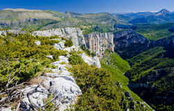 Verdon Gorge Stock Photo