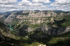 Verdon Gorge Stock Photography