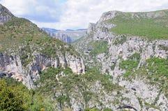 Verdon gorge. Stock Photo